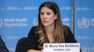 Dr Maria Van Kerkhove said many people remain susceptible to the virus