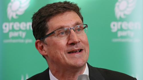 Green Party leader Eamon Ryan will now seek to meet with Fianna Fáil and Fine Gael (file pic)