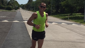 Waterford man Frank Quinlan has been running half-marathons within 2km of his home