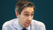 Health Minister Simon Harris said he was concerned about the low use of face coverings