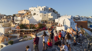 Greek islands like Santorini rely on tourism for much of their revenue