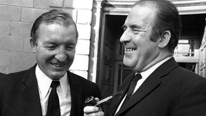 Two of the main figures in the 1970 Arms Crisis: Charles Haughey and Neil Blaney