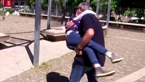 Domenico di Massa was overjoyed to see his granddaughter again