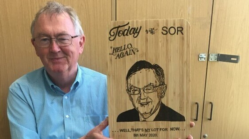 Seán O'Rourke's last Today with Seán O'Rourke is on RTÉ Radio 1 this Friday from 10:00am
