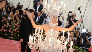 Perry at last year's Met Gala. Photo: Getty