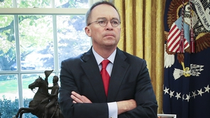 Mick Mulvaney officially became US Special Envoy to Northern Ireland following a virtual swearing-in ceremony