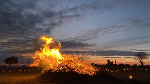 The publicBealtaine FireCelebration had been cancelled due to the pandemic