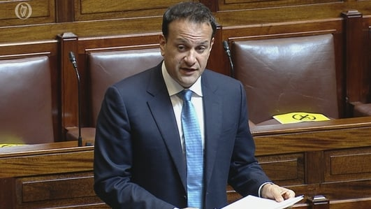 Taoiseach warns against borrowing way out of crisis