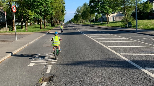 Among the measures sought is the installation of temporary cycle lanes