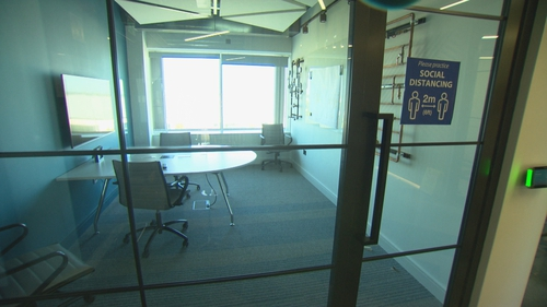 Some firms are considering remodelling their offices to minimise the risk of a second wave of infections