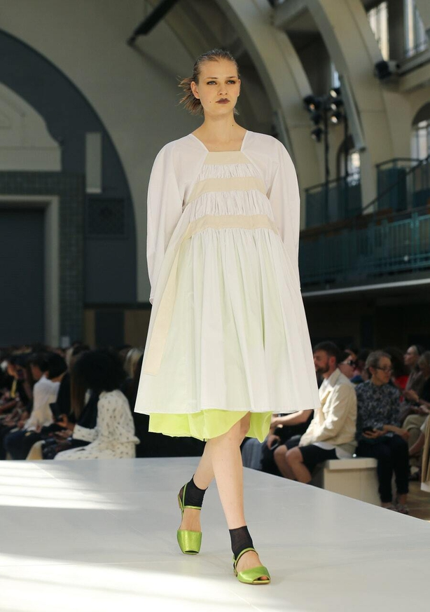 Molly Goddard's spring/summer 2020 fashion show (Isabel Infantes/PA)