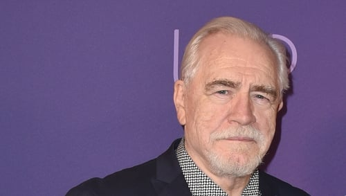 Brian Cox won a Golden Globe for his role as Logan Roy