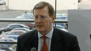 David Trimble is among the signatories of the letter (file image)