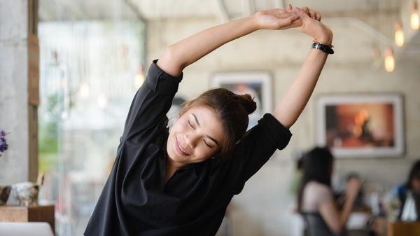 10 stretches to do when working from home