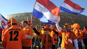 Dutch supporters at the 2010 World Cup