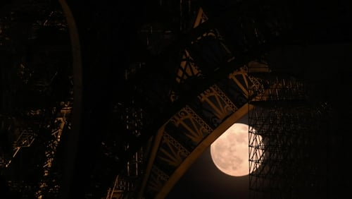 A full moon lurks behind the Eiffel Tower: Malaparte's mostly nocturnal encounters in Paris are recalled in his unfinished diary