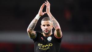 Manchester City defender Kyle Walker
