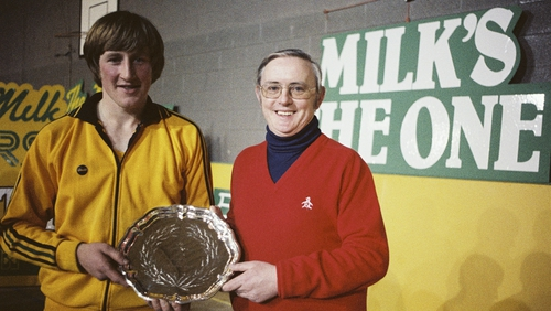 Bahamas buddies: Spillane and Magee would both travel to Grand Bahama after the former's Superstars win in 1979