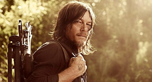 """Norman Reedus: """"My hopes are that they kick us out of the gate with it, like a rocket ship."""""""