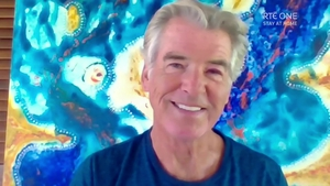 "Pierce Brosnan at home in Hawaii on Friday's Late Late Show - ""The bond is this lovely gift that keeps giving"""