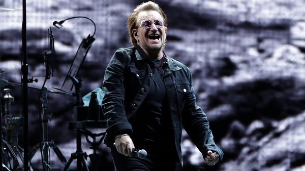 """Bono - """"These are some of the songs that saved my life.. the ones I couldn't have lived without."""""""