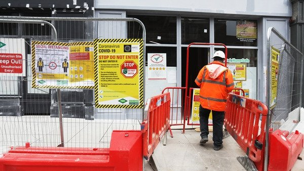 Construction sites were among those workplaces inspected by the HSA in the last week