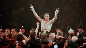 Steve Collins won all four of his bouts against world champions Chris Eubank and Nigel Benn