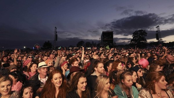 The way things were: the audience at the last Electric Picnic