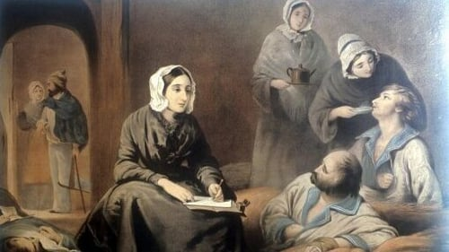 Florence Nightingale developed her skills during the Crimean War
