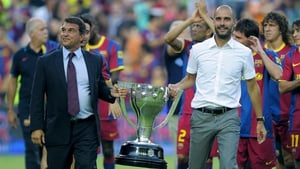 Joan Laporta is eager to reunite with Pep Guardiola