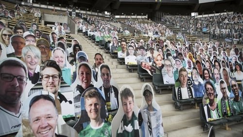 Moenchengladbach fans can be at their stadium in spirit at least