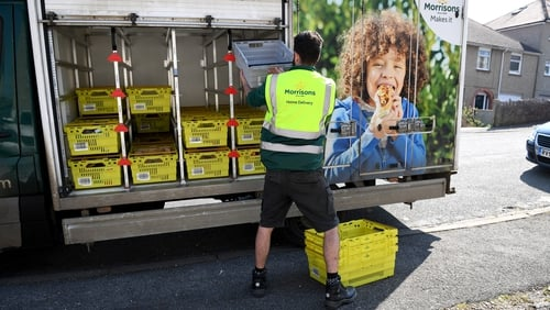 Morrisons is creating more than 1,000 jobs to pick and pack orders for its services on Amazon
