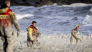 Rescue personnel recovered five bodies from the sea
