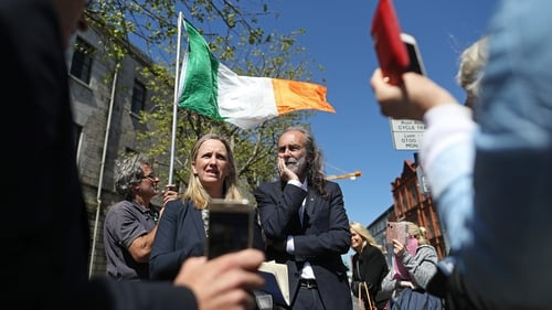 Gemma O'Doherty and John Waters wanted the court to make a declaration that the legislation is unconstitutional