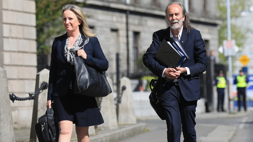 Gemma O'Doherty and Jon Waters are appealing the dismissal of their action to the Court of Appeal