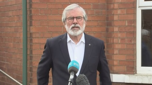 Gerry Adams attempted to escape from Long Kesh on Christmas Eve 1973 and again in July 1974