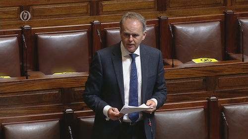 Joe McHugh said that all decisions will be based on public health advice (file pic)