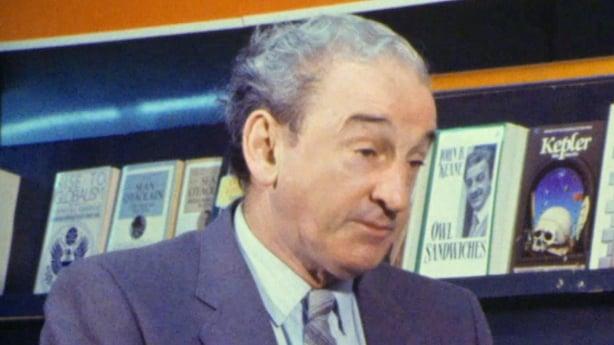 John B Keane at Listowel Writers' Week (1985)