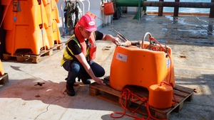 A team of scientists on the Marine Institute's RV Celtic Explorer were involved in the expedition