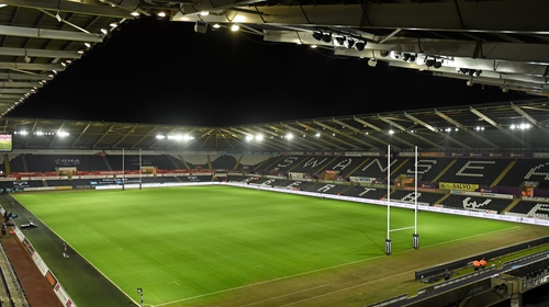 Ospreys play their home games in Swansea's Liberty Stadium