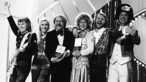 ABBA after the won the Eurovision Song Contest in 1974