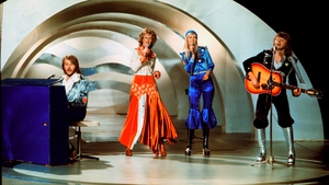 Abba perform at the 1974 Eurovision Song Contest in Brighton, England