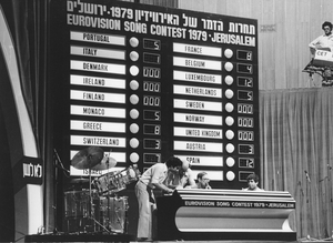 Eurovision Song Contest 1979 in Jerusalem