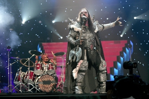 Lordi performed 'Hard Rock Hallelujah' in the 2006 Eurovision Song Contest and won the contest with 292 points