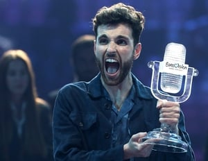 Duncan Laurence representing the Netherlands won the 2019 Eurovision Song Contest
