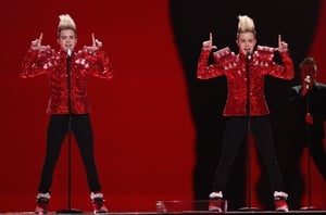 Jedward put their 'Lipstick' on and represented Ireland in 2011 -they came 8th in the contest