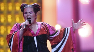 Israel's Netta performs 'Toy' during the final of the 63rd edition of the Eurovision Song Contest in 2018