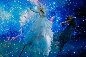 Australia's Kate Miller-Heidke performs the song Zero Gravity during the 2019 contest