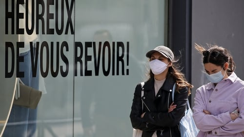 """Dr David Nabarro said he would encourage people to """"get into the habit"""" of wearing face masks"""