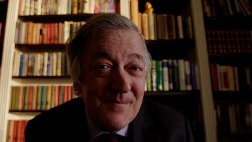 """Stephen Fry: """"There is a healing quality to listening to it that actually helps""""."""